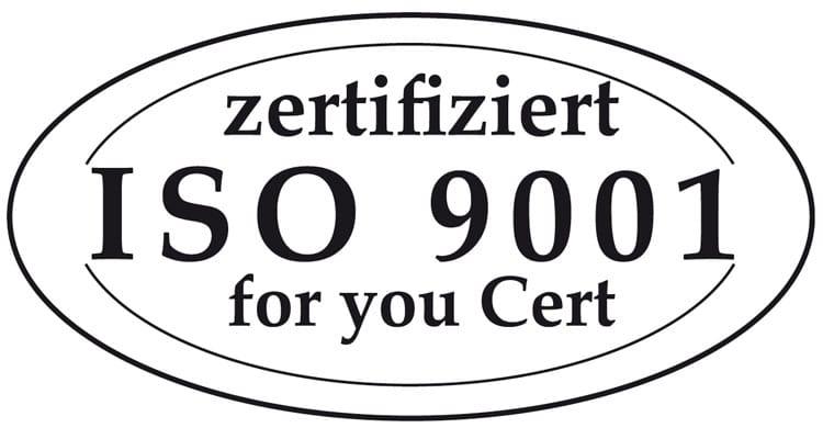 Qualität Zertifizierung 9001